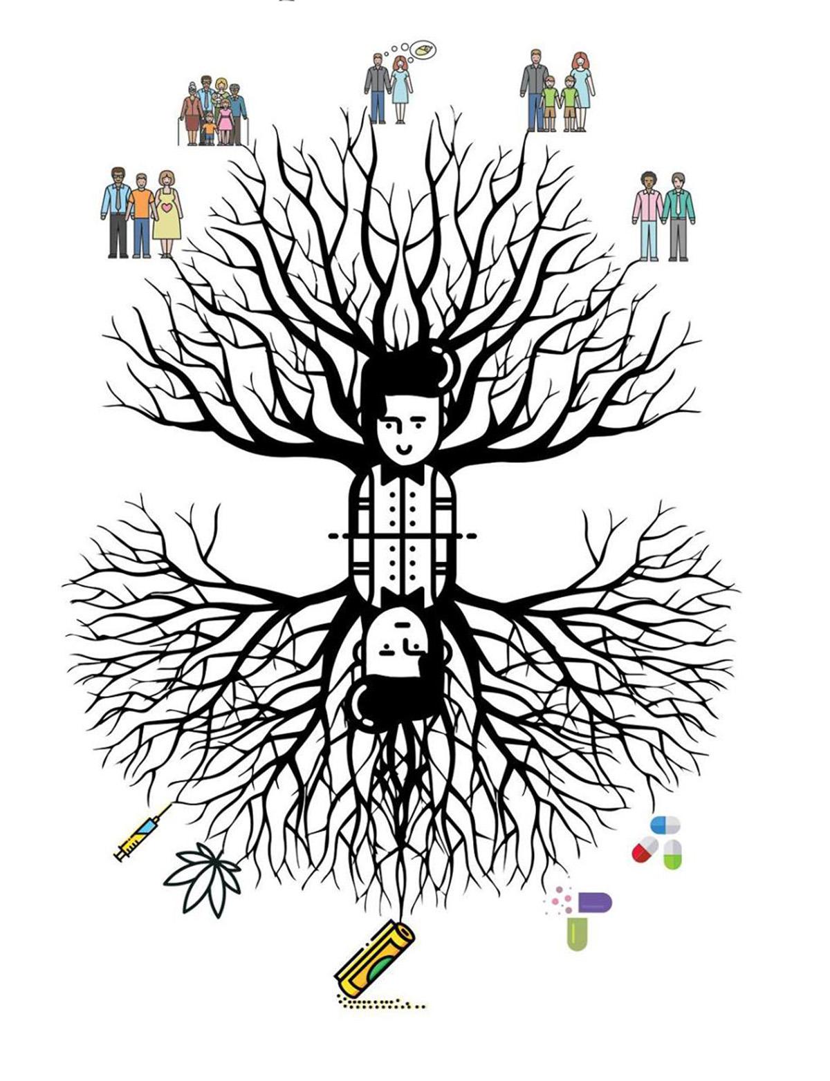 Famiglie e sostanze: chi dipende da chi?
